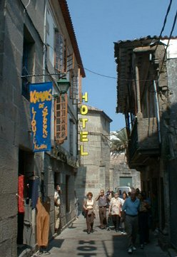 Back-street of Bayona