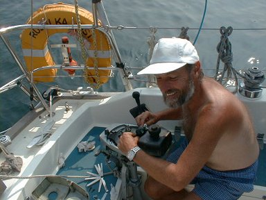 Fixing the drowned outboard