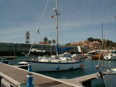 In the marina at Cascais