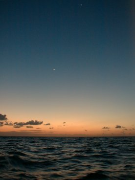 The Sun, the Moon and Venus